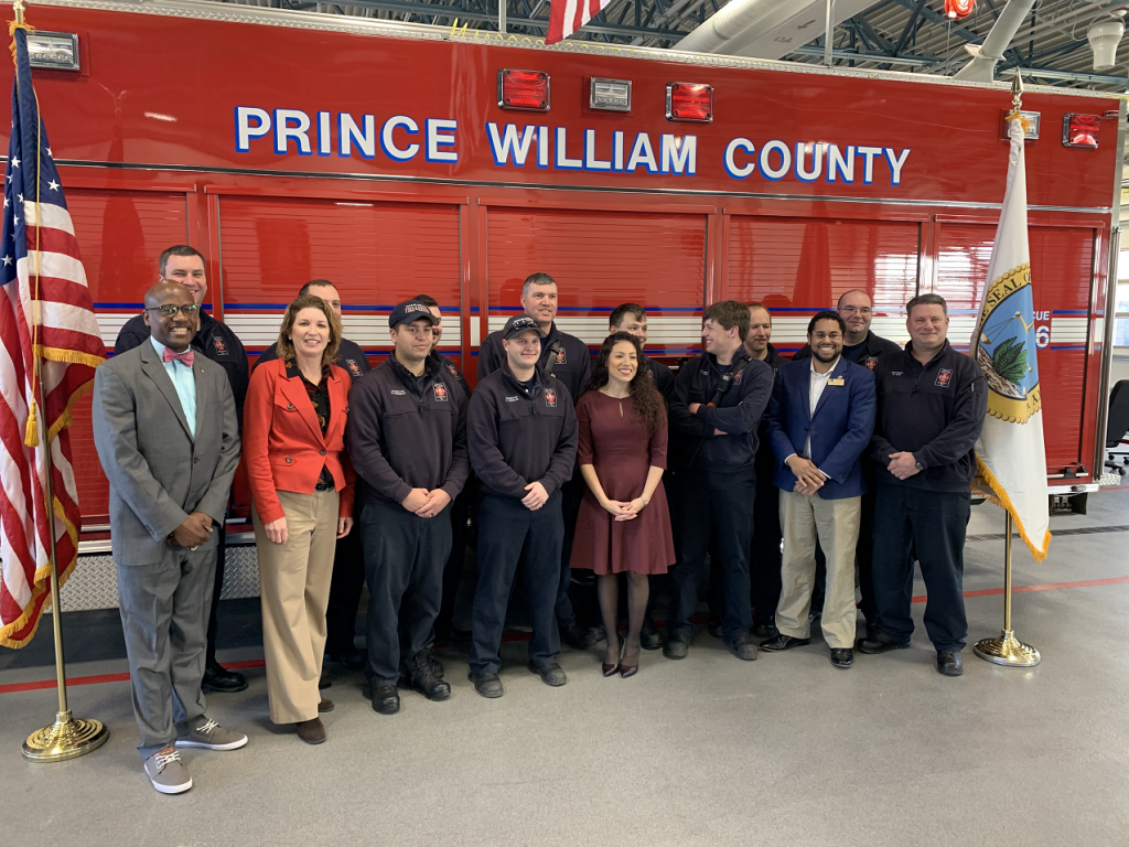 Fire and Rescue Station 6 Ribbon Cutting