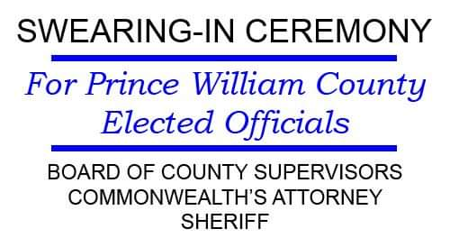 Swearing In of Prince William County Elected Officials