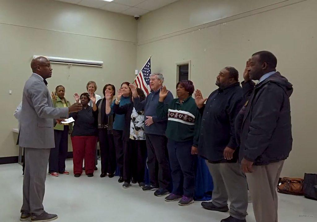 DCCA Representatives Swearing In