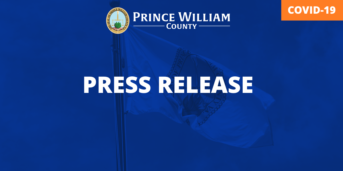 Prince William County News Release COVID19