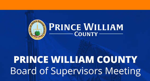 Prince William County Board of County Supervisors Meeting