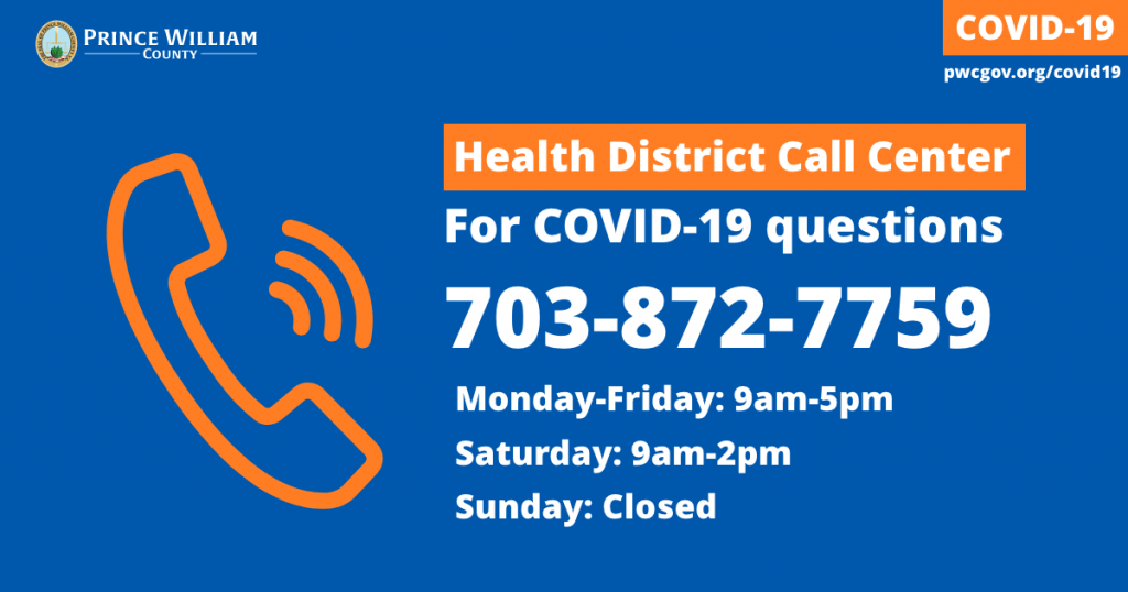 Prince William County Health District Call Center