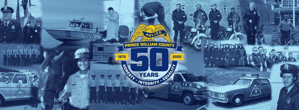 Prince William County Police Department 50 Year Anniversary