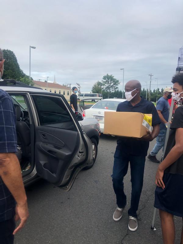 Neabsco Baptist Church And Food Distribution
