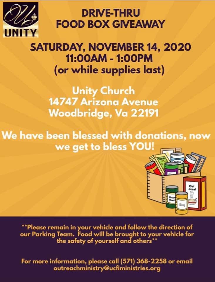 2020 Supervisor Angry Unity Church Food Drive