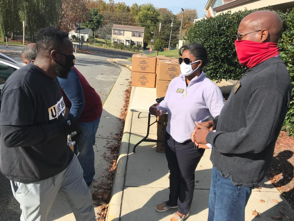 2020 Supervisor Angry And Unity Church Drive-Thru Food Box Giveaway