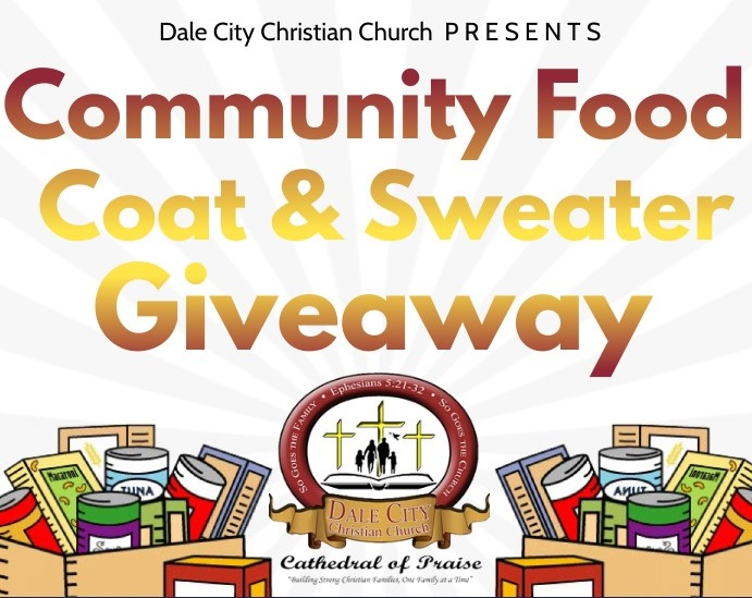 2020 Dale City Christian Church Food Giveaway