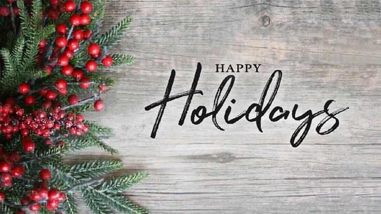 2020 Neabsco District Happy Holidays
