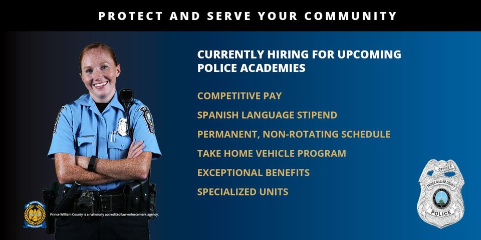 2020 Prince William County Police Department Recruiting