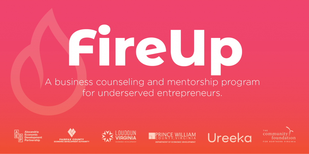 Prince William County Economic and Ureeka Business Program FireUp