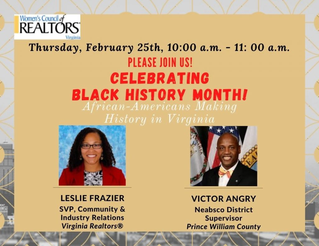2021 Celebrating Black History Month With Supervisor Angry and Leslie Frazier