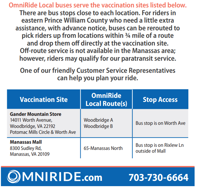 2021 OmniRide Local Buses Serve Vaccination Sites Listed In Article
