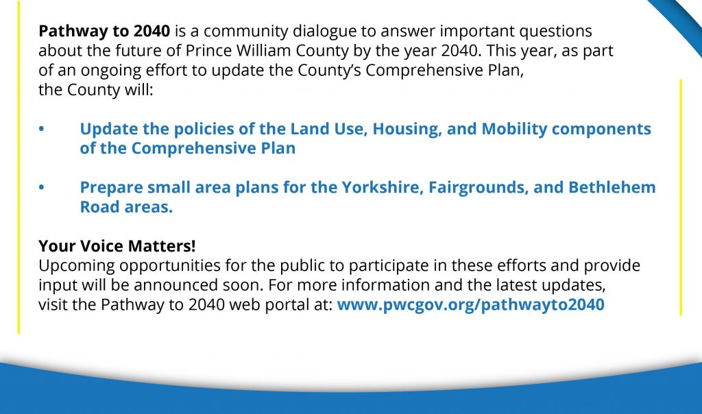 2021 Pathway To 2040 Help Shape The Countys Future