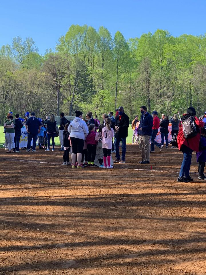 2021 Opening Day For Prince William Lassie League and Dale City Little League