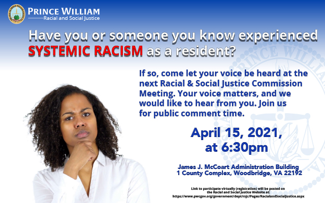 2021 Racial and Social Justice Commission Meeting