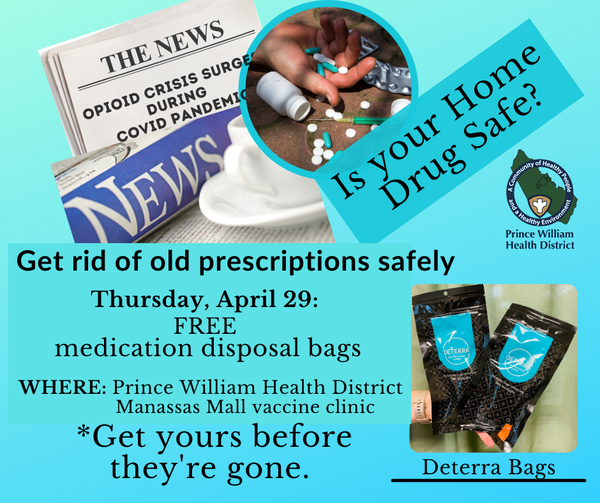 Prince William Health District Drugs At Home