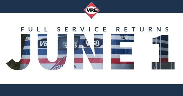 VRE Juse 1st Full Service REturns