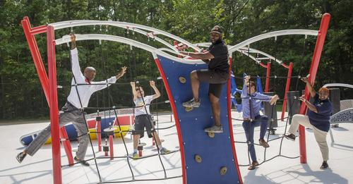 Prince William Department of Parks, Recreation and Tourism Opens Warrior Challenge Course at Locust Shade Park