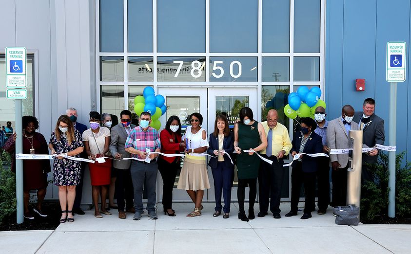 OmniRide and PRTC Bus Maintenance And Storage Facility Ribbon Cutting