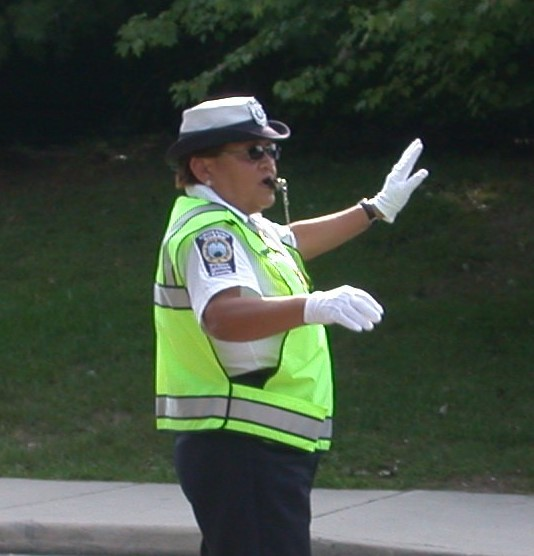 Slow Down and Obey School Crossing Guards