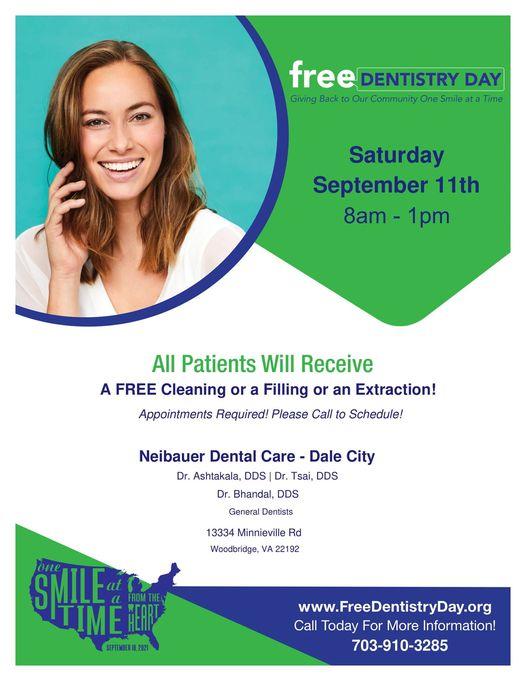 Free Dentistry Day Woodbridge