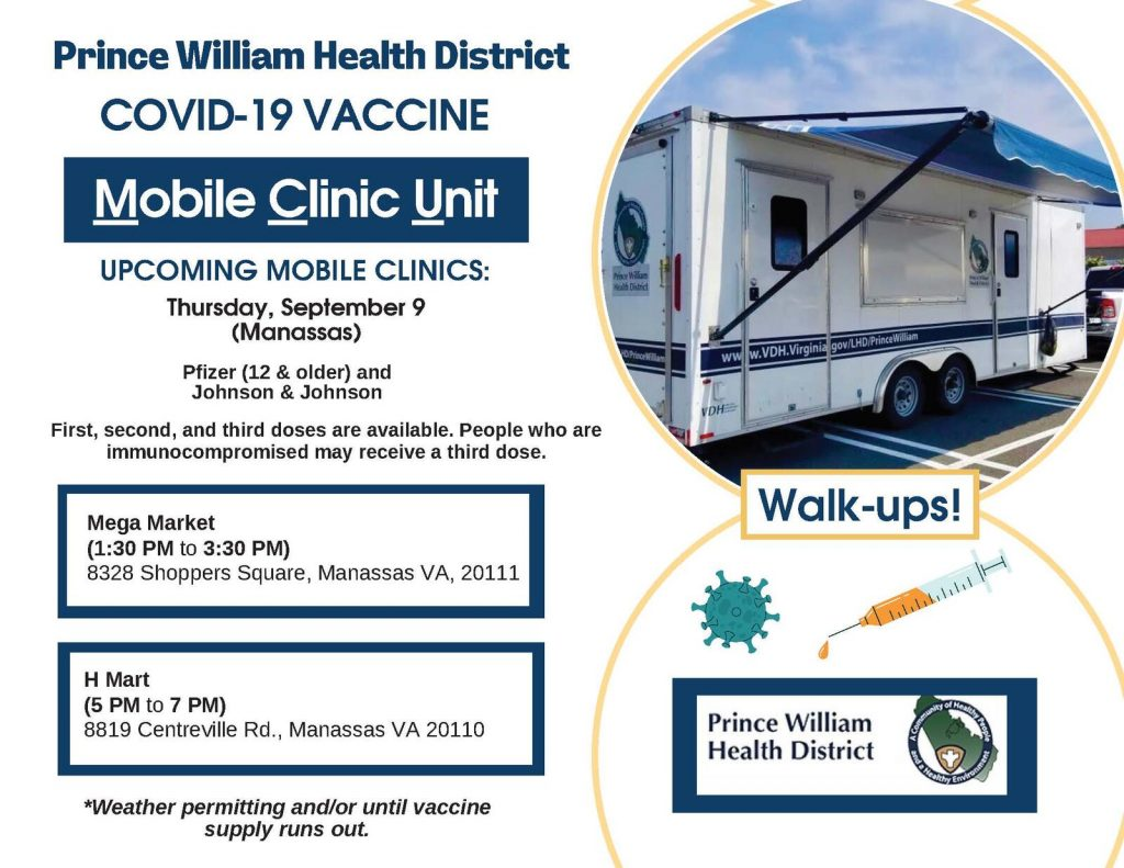 Prince William County Health District Mobile Clinic Unit