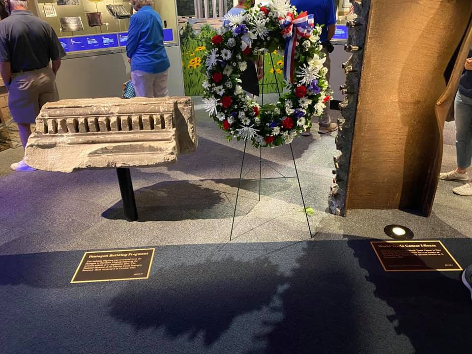 Wreath Laying Ceremony at The National Museum of The Marine Corps
