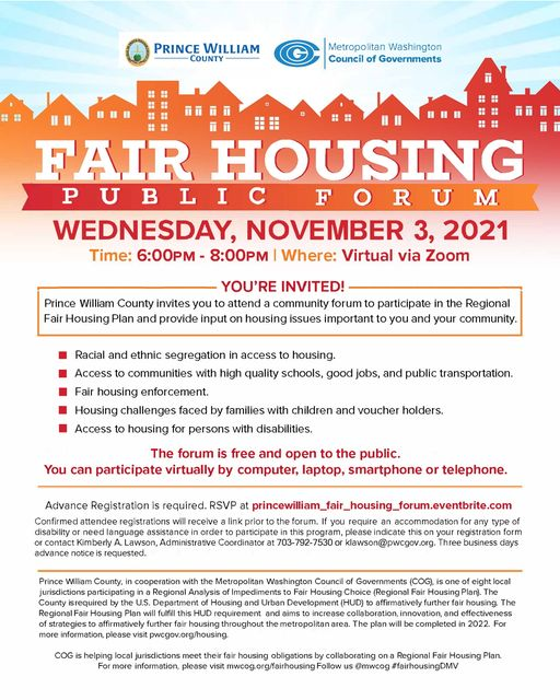 Fair Housing Public Forum