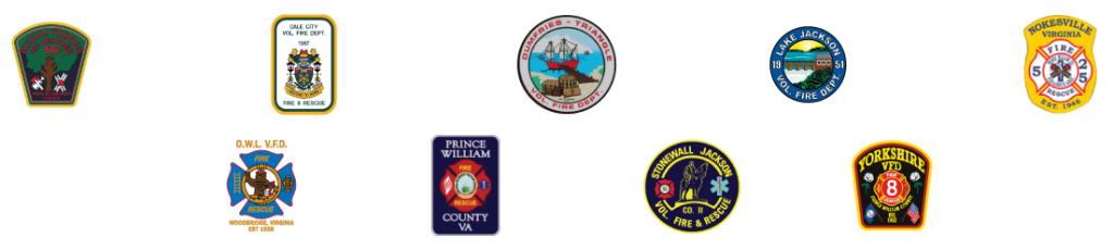 Prince William County Volunteer Fire Departments Logos