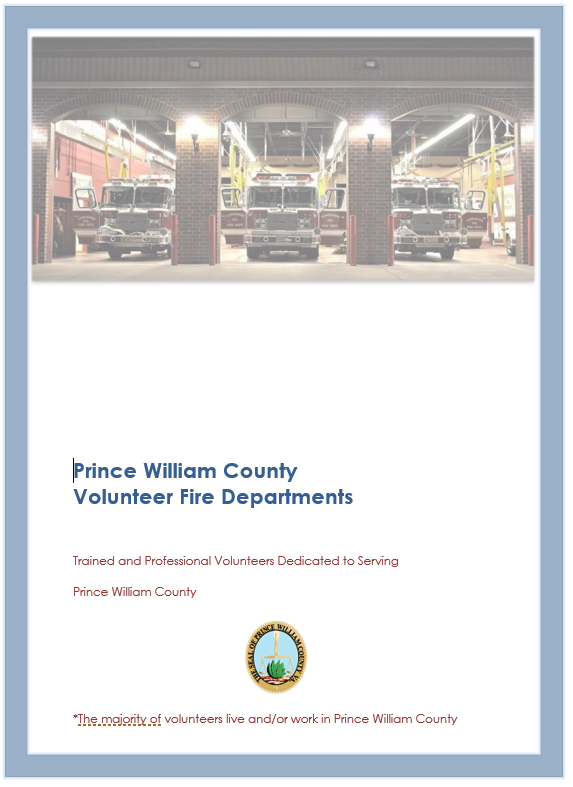 Prince William County Volunteer Fire Departments